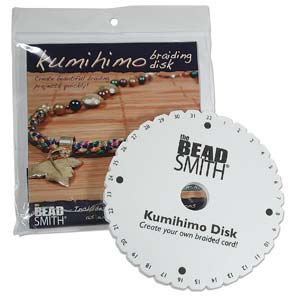 6 inch kumihimo disk with instructions